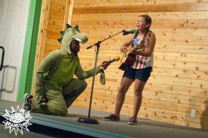 Camp Brainstorm camper - talent show